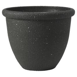 "14"" Black Fiberglass Planter thumb"