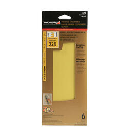 6 Pack 320 Grit Hook and Loop Sandpaper Refills thumb