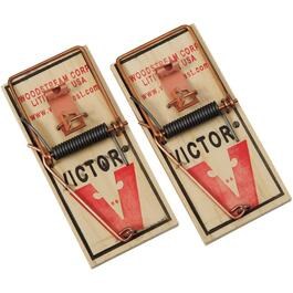 2 Pack Wood Mouse Traps thumb
