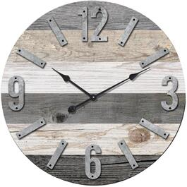 "24"" Round Market Wall Clock thumb"