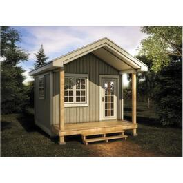 12 X 12 Bunkie, with Vinyl Board and Batten Siding thumb