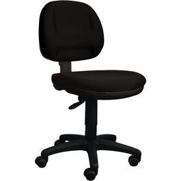 Black Deluxe Steno Office Chair thumb