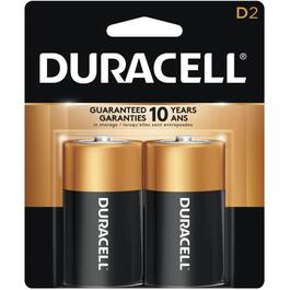 2 Pack Alkaline D Batteries thumb