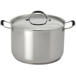 12 Quart Stainless Steel Stockpot, with Stainless Steel Lid thumb