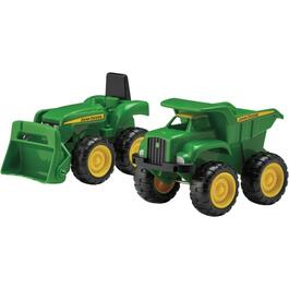 2 Pack John Deere Sandbox Vehicles thumb