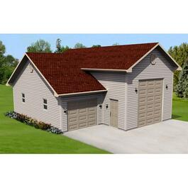 Drywall Option Package, for 30' x 36' x 14' RV Garage thumb