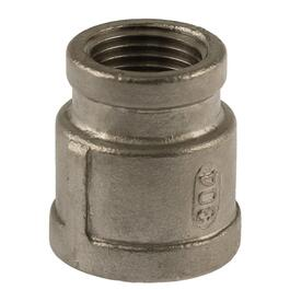 "1/2"" x 3/8"" Stainless Steel Reducing Coupling thumb"