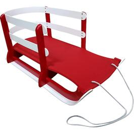 "31.5"" Red Plastic Baby Sleigh thumb"