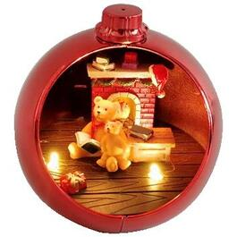 Battery Operated Ornament, Assorted Scenes thumb