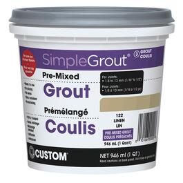 946mL Linen Pre-Mixed Grout thumb