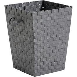 "15"" x 15"" x 20"" Grey Woven Laundry Hamper thumb"