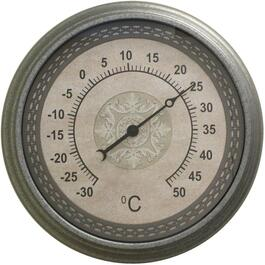 "18"" Grey Dial Thermometer thumb"