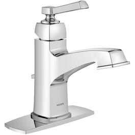Boardwalk 1+3 Hole 1 Lever Handle Chrome Lavatory Faucet thumb