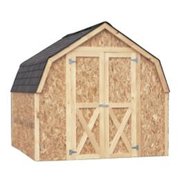 8' x 8' Stick Built Barn Style Shed Package, with Double Ply Siding thumb