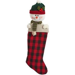 "25"" Plush Christmas Stocking, Assorted Styles thumb"