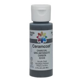 2oz Charcoal Acrylic Ceramcoat Craft Paint thumb