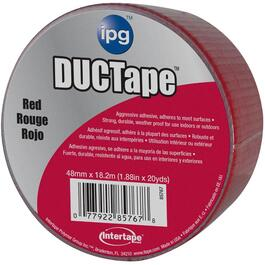 "1.88"" x 20YD Red Cloth Duct Tape thumb"