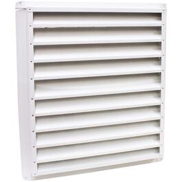 "8"" x 8"" White Gable Vent Louver thumb"