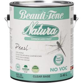 3.40L Clear Base Pearl Finish Interior Latex Paint thumb