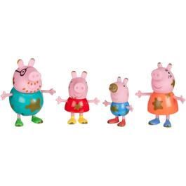 "4 Pack 3"" Peppa Pig Friends and Family Figures, Assorted Models thumb"