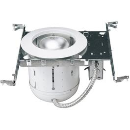 "6"" 150W White Recessed Light Fixture thumb"