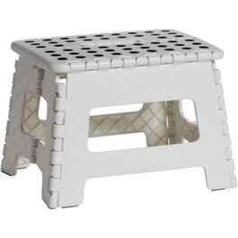 White Folding EZ Step Stool thumb