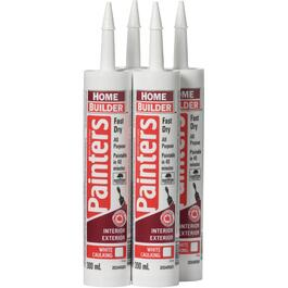 4 Pack 300mL White Painters Latex Caulking thumb