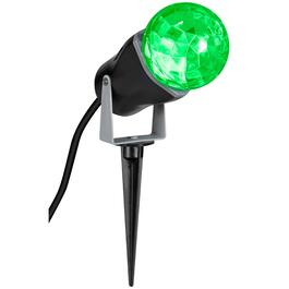 Green LED Kaleidoscope Spotlight thumb