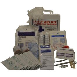 British Columbia Basic First Aid Kit, for 2-10 People thumb