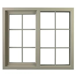 "48"" x 30"" Vista 2"" Poly Vinyl Slider Window thumb"