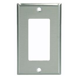 Stainless Steel 1 Device Switch Plate thumb