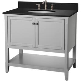 "36"" x 21.5"" 2 Door Grey Auguste Vanity thumb"