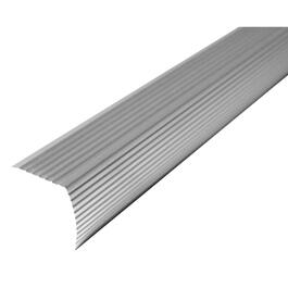 3' Satin Silver Stair Nose Moulding thumb