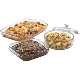 4 Piece Glass Baking Dish Set thumb