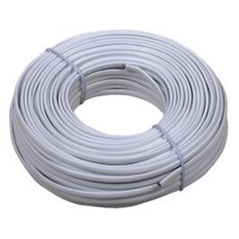 100' White 4 Conductor Phone Cord thumb
