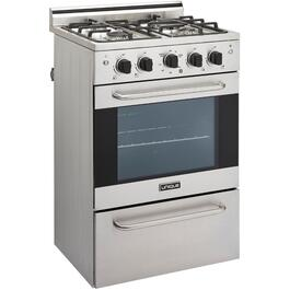 "24"" Stainless Steel Convection Gas Range thumb"
