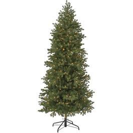 7' Real Look Hilton Christmas Tree, with 400 Clear Lights thumb