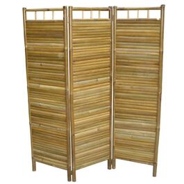 "54"" 3 Panel Bamboo Privacy Screen thumb"
