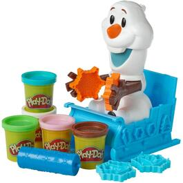 Frozen 2 Olaf Snowball Maker Play-Doh thumb