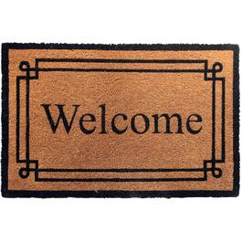 "24"" x 36"" Welcome Coir Door Mat, with Rubber Back thumb"