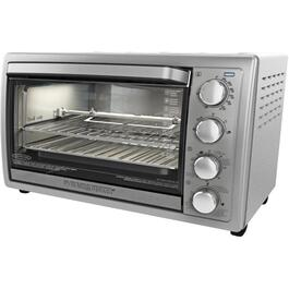 9 Slice Silver Rotisserie Convection Oven thumb