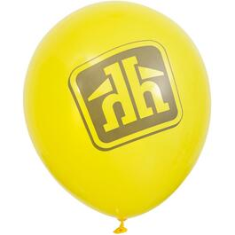 "12"" 25 Pack Home Hardware Logo Yellow Balloons thumb"