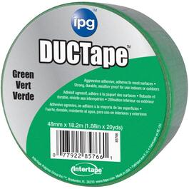 "1.88"" x 20YD Green Cloth Duct Tape thumb"