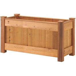 3'H x 2'W x 4.9'L Pressure Treated Raised Planter Package thumb
