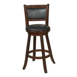 "29"" Espresso Dupont Swivel Stool thumb"
