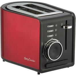 2 Slice Metallic Red Toaster, with Extra Wide Slots thumb
