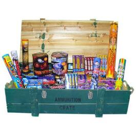33 Piece Ammunition Crate Fireworks thumb