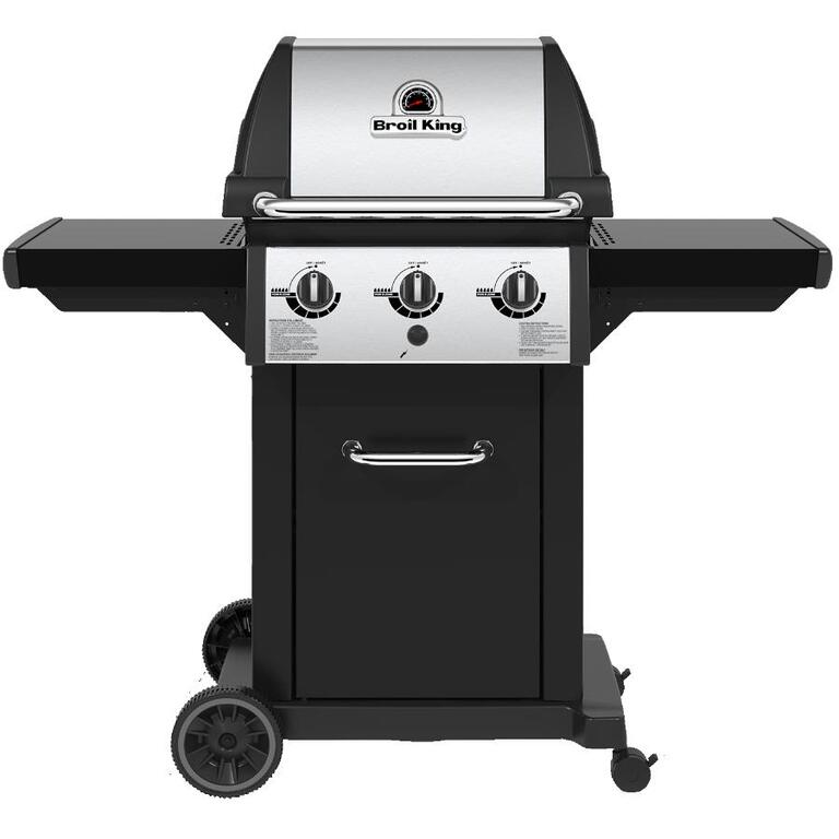 BROIL KING:Monarch 320 3 Burner 500 sq. in. 30,000BTU Natural Gas Barbecue