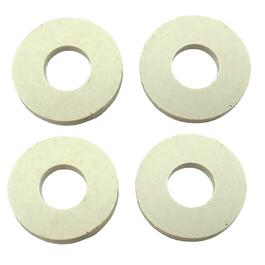 4 Pack Toilet Seat Hinge Post Washers thumb