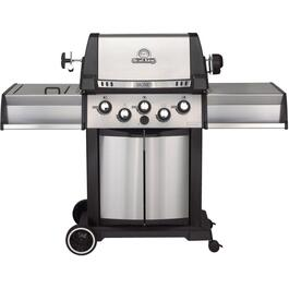 Signet 390 3 Burner + 1 Side Burner + 1 Rear Rotisserie Burner 635 sq. in. 65,000BTU Propane Barbecue thumb